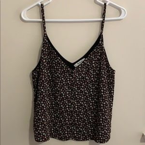 Madewell Floral Button Cami Tank